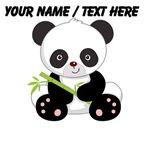 Custom Panda With Bamboo