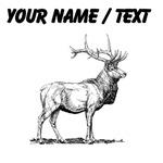 Custom Elk Sketch