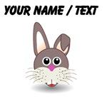 Custom Cute Bunny Face