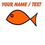 Custom Orange Fish