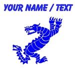 Custom Blue Peruvian Dragon
