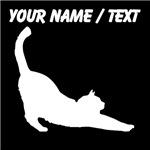 Custom Cat Stretching
