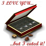 I love you, but I eated it