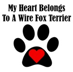 My Heart Belongs To A Wire Fox Terrier