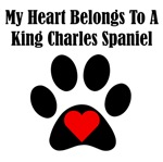 My Heart Belongs To A King Charles Spaniel