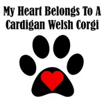 My Heart Belongs To A Cardigan Welsh Corgi