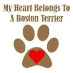 My Heart Belongs To A Boston Terrier