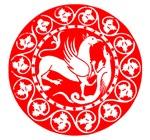 Red Dragon Symbol