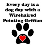 Wirehaired Pointing Griffon Dog Day