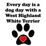 West Highland White Terrier Dog Day