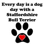 Staffordshire Bull Terrier Dog Day
