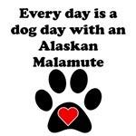 Alaskan Malamute Dog Day