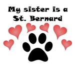 My Sister Is A St. Bernard