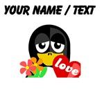 Custom Valentine Penguin