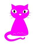 Cartoon Pink Cat