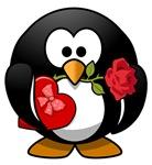 Valentine's Day Penguin