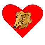 Goldendoodle Heart