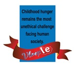 Childhood Hunger remains the most Unethical challe