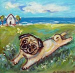 PUG Whimsical ART