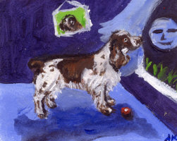 ENGLISH SPRINGER SPANIEL ART