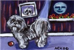 SHIH TZU whimsical art!