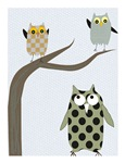 Retro Owls/Birds