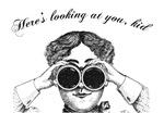 Lady with Binoculars