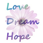 Love, Dream, Hope Daisy