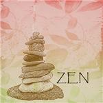 Zen Cairn Rocks