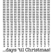 Number of Days 'til Christmas