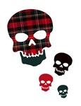 Tartan Skulls