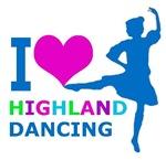 Loving Highland Dancing Rainbow