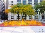 Fountain of Orange, Photo / Digital Painting