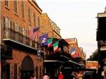 Street Of Flags, Photo / Digital Painting