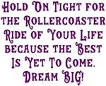 Rollercoaster To The Best Dream BIG Design