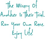 The Race Enjoy Life! Design