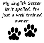 Well Trained English Setter Owner