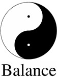 Daoist Balance ~ The Daoist symbol of the divine balance of opposites: Yin & Yang.