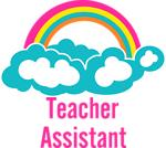 Teacher's Assistant Cloud Rainbow