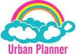 Urban Planner Rainbow Cloud