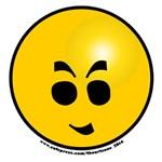 NEW!  Emoticon Vry Evil Grin