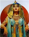 Cleopatra Flapper Art Deco Glamorous Pin Up