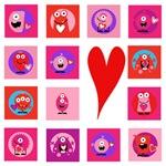 Valentine Monsters