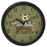 Cat & Dog Wall Clocks