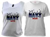 Military Families-Navy T-shirts