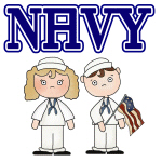 Navy T-shirts, Apparel, Gifts