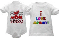Mom Shirts For Kids and Babies!