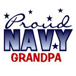 Proud Navy Grandpa T-shirts and Gifts