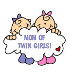 Mom of Twin Girls
