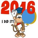 Monkey Graduation 2014 T-shirts, Mugs, Gifts